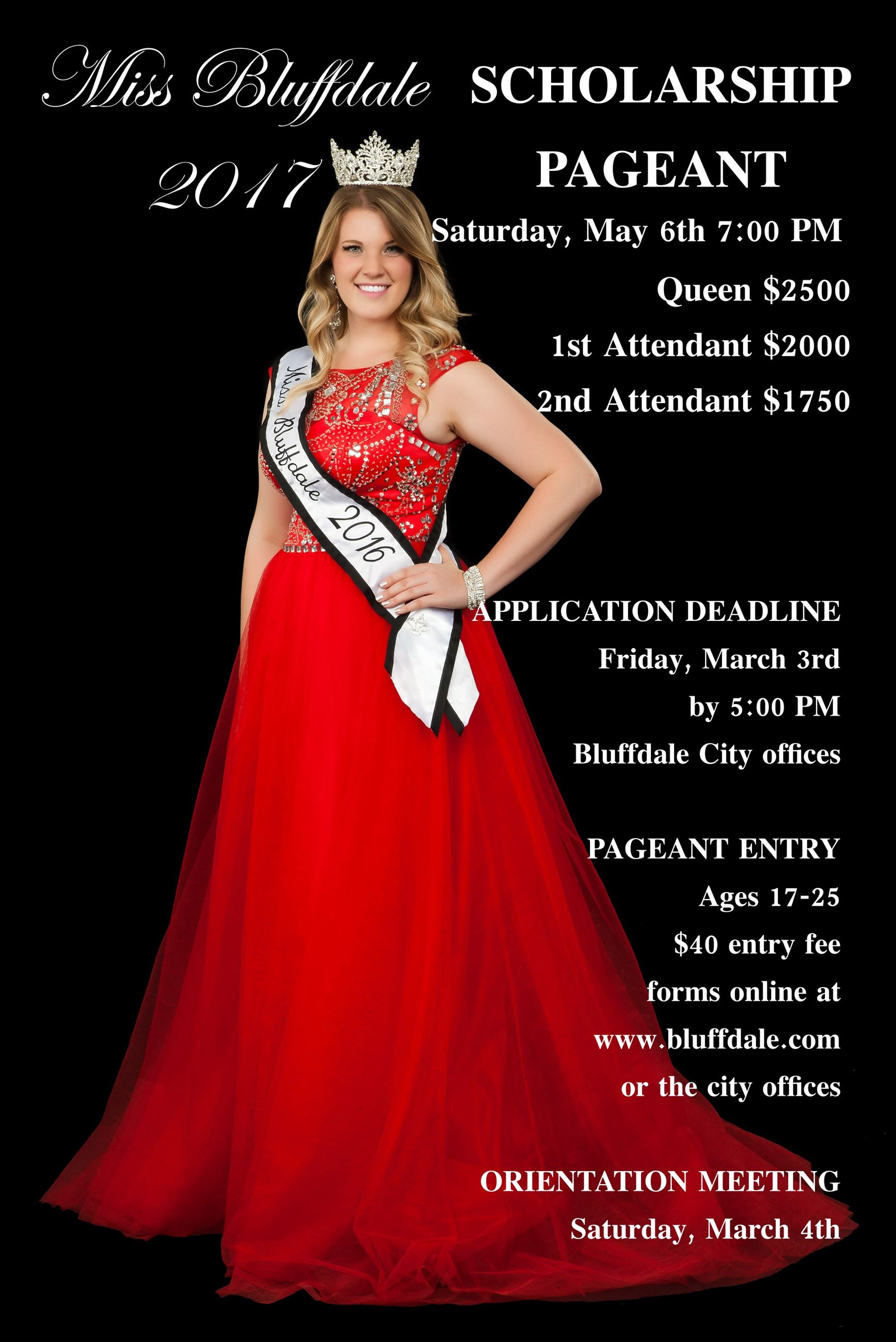 Miss Bluffdale Pageant 2017