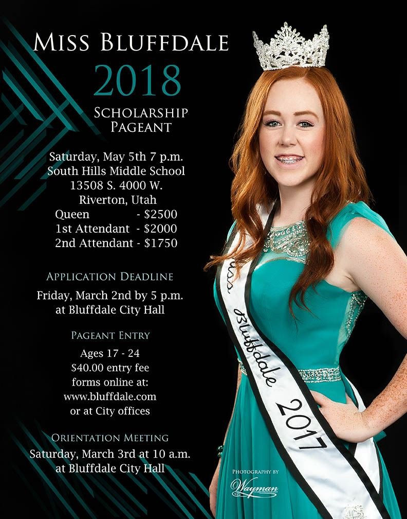 Bluffdale Pageant 2018