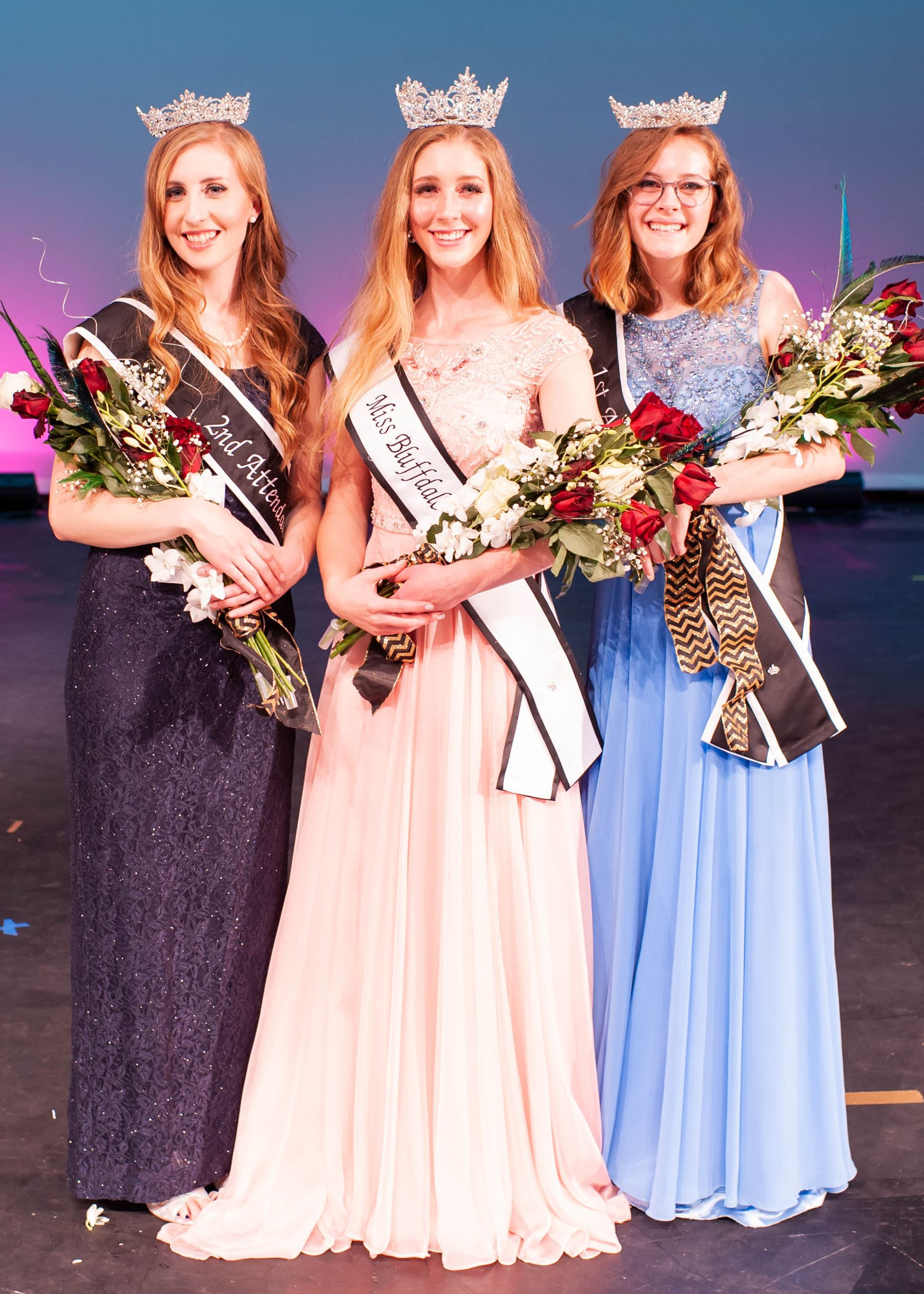 2018 Miss Bluffdale Pageant Royalty