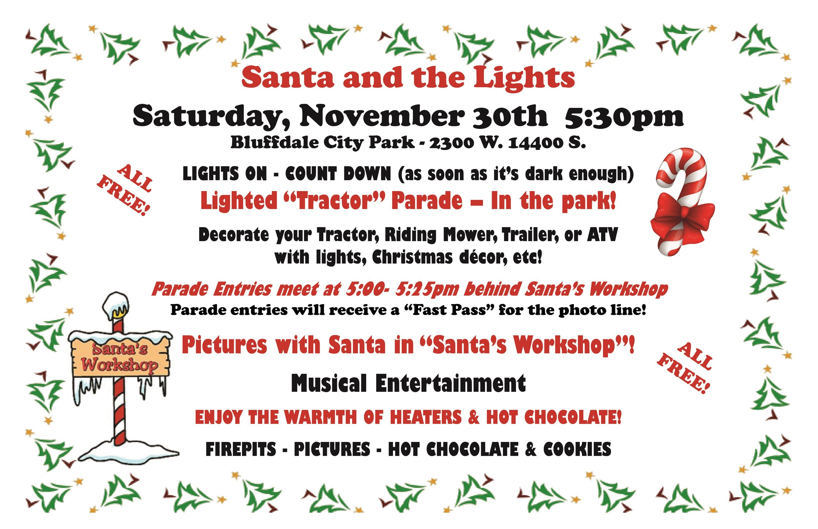 2019 Bluffdale Santa  Lights Flyer (002)