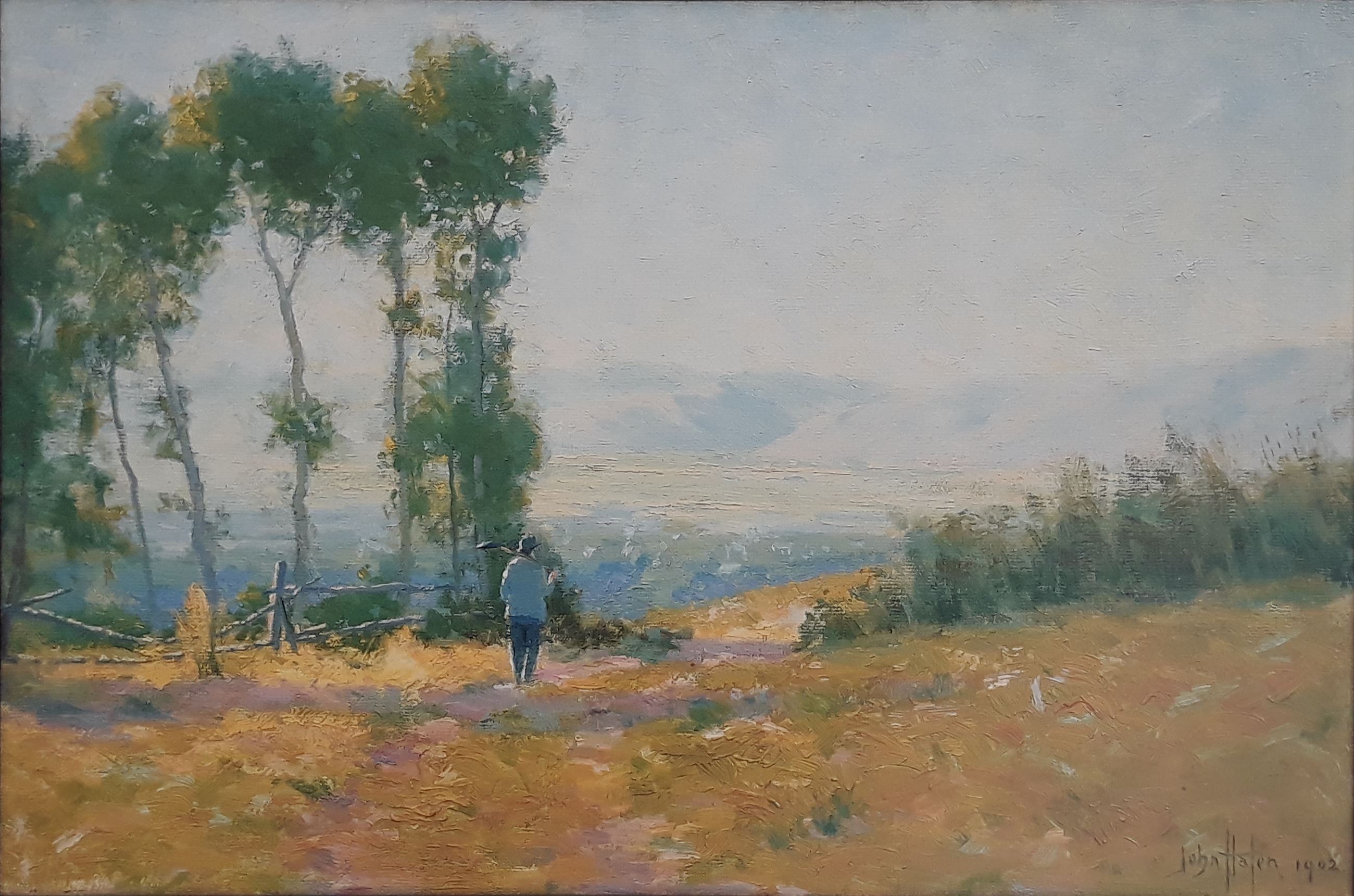 """Bluffdale"" by John Hafen (1856-1910) Original owned by The Church of Jesus Christ of Latter-Day-Sai"
