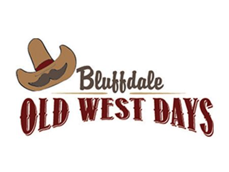 Bluffdale Old West Days Logo