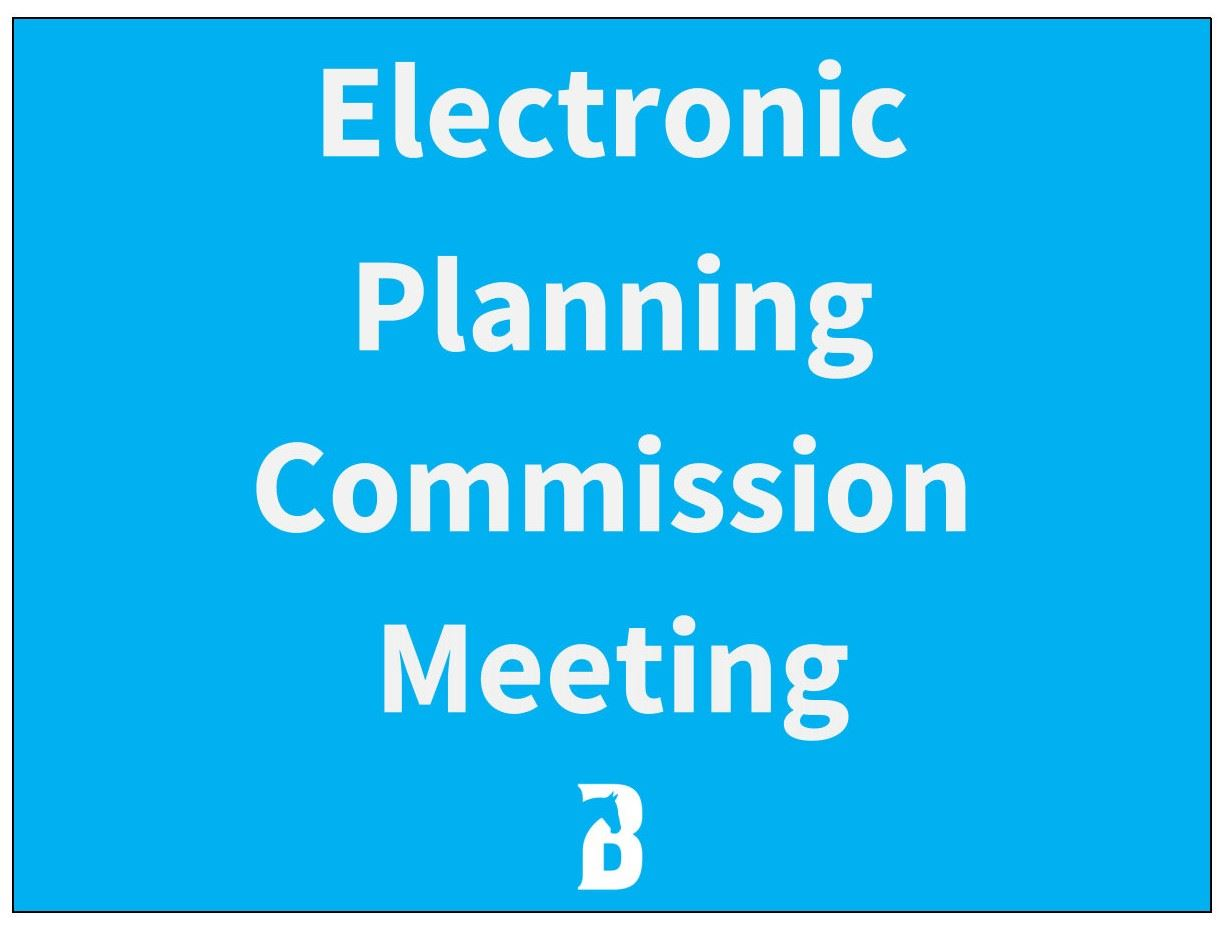 Electronic Planning