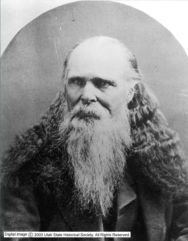 Orrin Porter Rockwell portrait